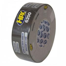 HPX Pantser Duct Tape 6200 Zwart 48 mm 25 Meter