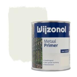 Wijzonol Metaal Primer Wit 750 ml