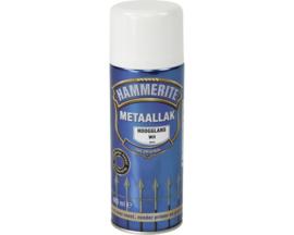 Hammerite Metaallak Hoogglans S010 Wit Spuitbus 400 ml