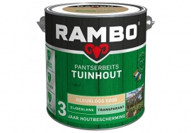 Rambo Pantserbeits Tuinhout Kleurloos 0000 2,5 L