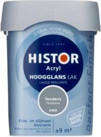 Histor Acryl Hoogglans Lak Tendens 6906 750 ml