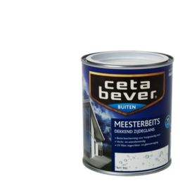 Cetabever Meesterbeits UV Dekkend Zijdeglans Wit 300 750 ml