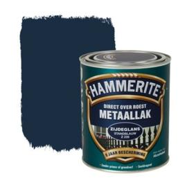 Hammerite Metaallak Zijdeglans Standblauw Z228 750ml