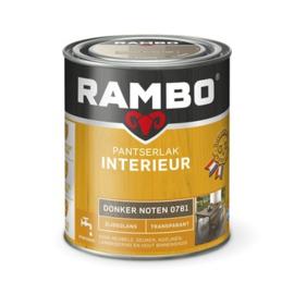 Rambo Pantserlak Interieur Donker Noten 0781 ZIJDEGLANS 750 ml