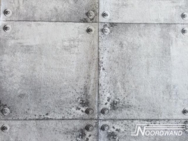 Noordwand Naturals Beton Blokken Behang 68618