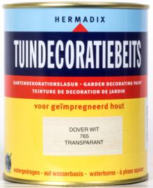 Hermadix Tuindecoratiebeits 765 Dover Wit Transparant 750 ml