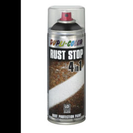 Dupli Color Rust Stop 4 in 1 Effects Zwart 400 ml