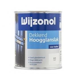 Wijzonol Dekkend Hoogglans 9187 Korengeel 750 ml