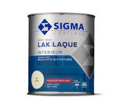 Sigma Lak Interieur Hout Hoogglans Mengen in alle Kleuren 750 ml