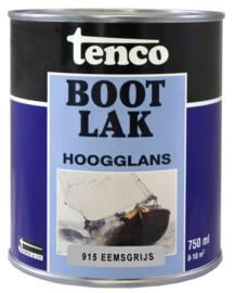 Tenco Bootlak Hoogglans 915 Eemsgrijs 750 ml