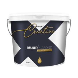Fitex Acryl Latex Muurverf Zwart 5 Liter