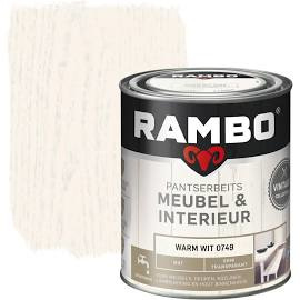 Rambo Pantserbeits Meubel & Interieur Warm Wit 0749 750 ml