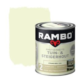 Rambo  / Bondex Tuin & Steigerhout Strand Geel 1141 750 ml