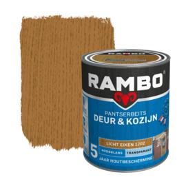 Rambo Pantserbeits Deur en Kozijn Transparant Hoogglans Licht Eiken 1202 750 ml