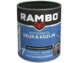 Rambo Pantserbeits Deur en Kozijn Dekkend Zijdeglans Grachtengroen 1128 2,5 Liter