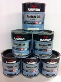 Rambo Pantserlak Metaal Zijdeglans 1110 Cremewit 250 ml