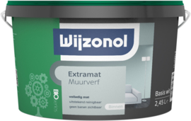 Wijzonol Muurverf Extramat Bio 2,5 Liter