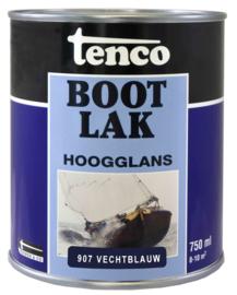 Tenco Bootlak Hoogglans 907 Vechtblauw 750 ml
