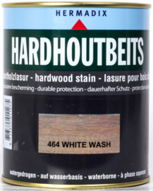 Hermadix Hardhoutbeits 464 White Wash 750 ml