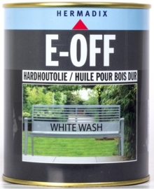 E-OFF Hardhoutolie White Wash 750 ml