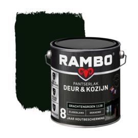 Rambo Pantserlak Deur en Kozijn Dekkend Zijdeglans Grachtengroen 1128 2,5 Liter