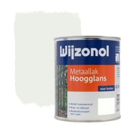 Wijzonol Metaallak Hoogglans RAL 9010 750 ml