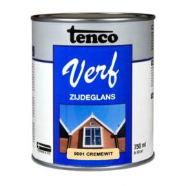 Tenco Verf Zijdeglans Cremewit 9001 750 ml