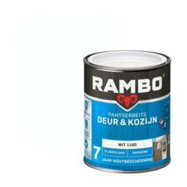 Rambo Pantserbeits Deur en Kozijn Dekkend Zijdeglans Wit 1100 750 ml