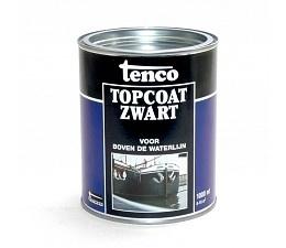 Tenco Topcoat Zwart 10 liter
