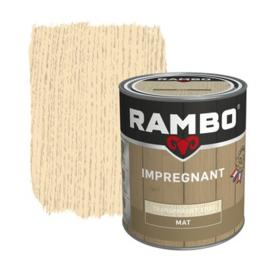 Rambo Impregnant Transparant Mat 750 ml