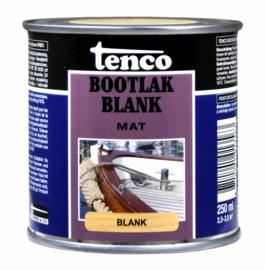 Tenco Bootlak Mat Blank 250 ml