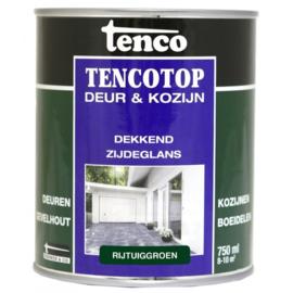 Tencotop Deur & Kozijn Dekkend Zijdeglans Rijtuiggroen 750 ml