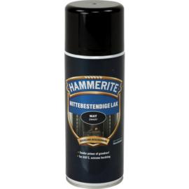 Hammerite Hittebestendige Lak Mat Zwart Spuitbus 400 ml