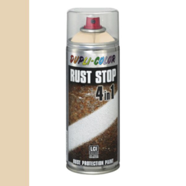 Dupli Color Rust Stop 4 in 1 Satin Matt RAL 1015 Ivoorwit 400 ml