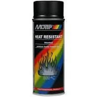Motip Hittebestendig 800 °C Zwart 400 ml