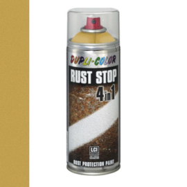 Dupli Color Rust Stop 4 in 1 Effect Goud 400 ml