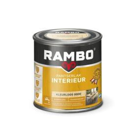 Rambo Pantserlak Interieur Kleurloos 0000 ZIJDEGLANS 250 ml
