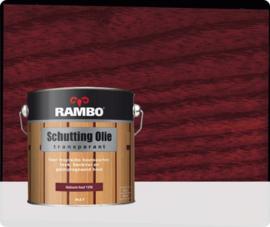 Rambo Schutting Olie Transparant Mahonie hout 1206 2,5 Liter