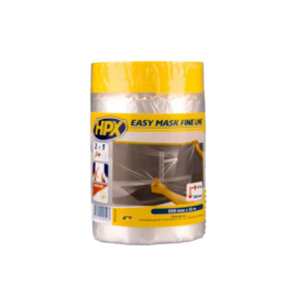 HPX Tapes Easy Mask Film Gold 550 mm x  33 mtr
