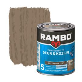 Rambo Pantserbeits Deur en Kozijn Transparant Hoogglans Notenhout 1207 750 ml