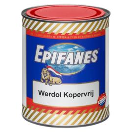 Epifanes Werdol Kopervrij Onderwaterverf Blauw 750 ml