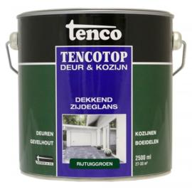 Tencotop Deur & Kozijn Dekkend Zijdeglans Rijtuiggroen 2,5 Liter