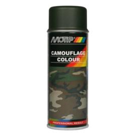 Motip Camouflagelak Mat RAL 6031 Bronsgroen 400 ml