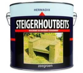 Hermadix Steigerhoutbeits Zeegroen 2,5 Liter
