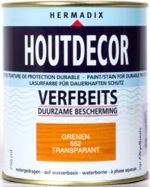 Hermadix Houtdecor Verfbeits Transparant 652 Grenen 750 ml