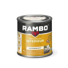 Rambo Pantserlak Interieur Whitewash  0777 MAT 250 ml