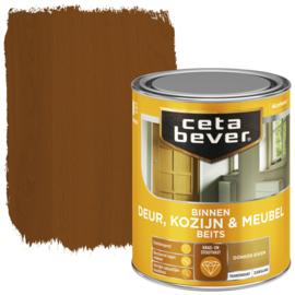 CetaBever Deur-, Kozijn- en Meubelbeits Donker Eiken Zijdeglans 750 ml