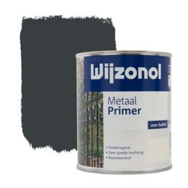 Wijzonol Metaal Primer Blauwgrijs 750 ml