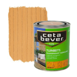 Cetabever Tuinbeits Transparant Grenen 077 750 ml