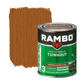 Rambo Pantserbeits Tuinhout Transparant Donker Eiken 1203 750 ml